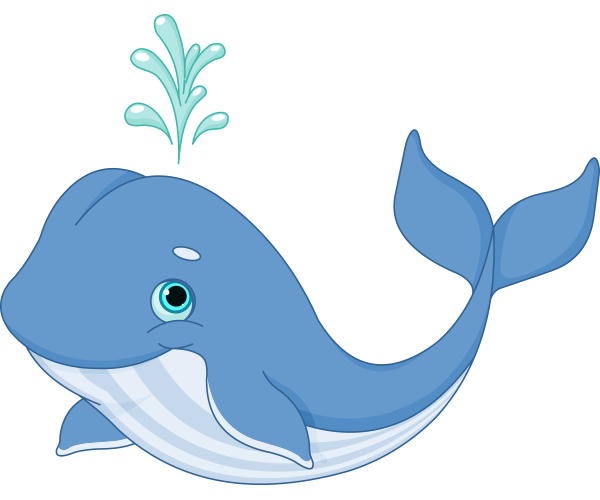 Whale png clipart image black and white Happy Whale | FaceBook-Symbols-Emoticons | Whale pictures ... image black and white
