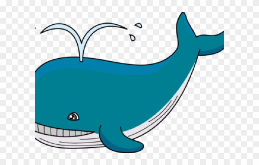 Whale png clipart picture black and white Whale Clipart Easy - Clipart Of Whale - Png Download ... picture black and white
