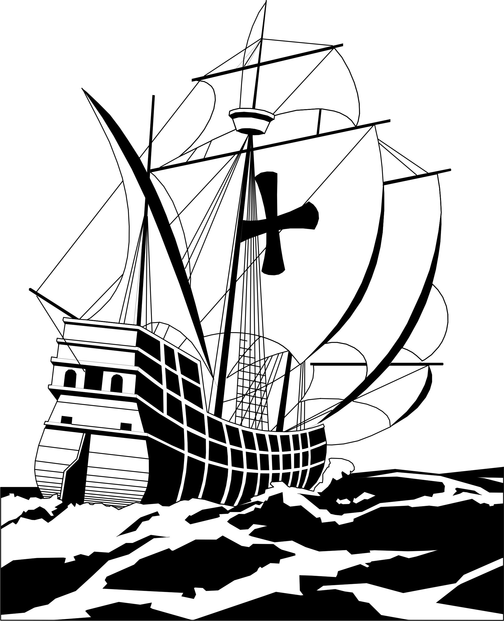 Whaling ship clipart jpg royalty free Whaling Ship Drawing | Free download best Whaling Ship ... jpg royalty free