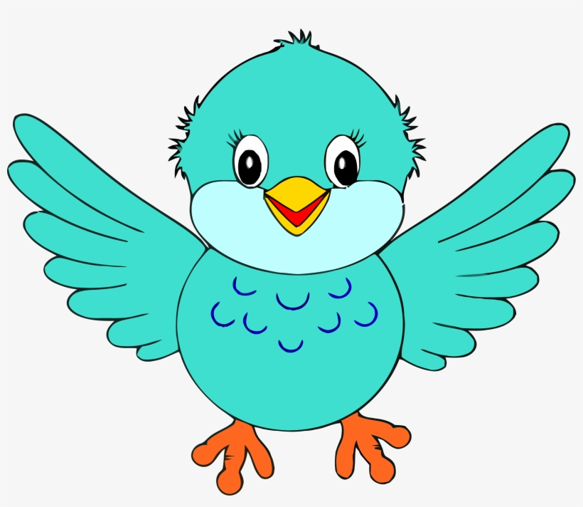 Little bird clipart clip freeuse library Bird Clipart Little Blue Bird Clip Art Png - Birds Clipart ... clip freeuse library