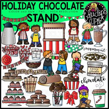 What does clipart stand for clip art library Holiday Chocolate Stand Clip Art Set {Educlips Clipart} clip art library