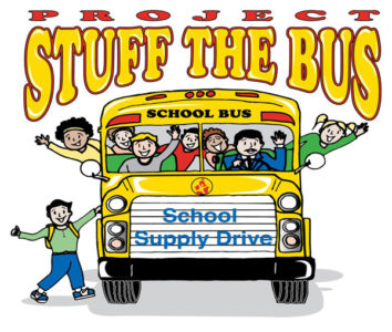What goes into a sandwhich bus clipart picture freeuse library Stuff the Bus - Communities in Schools Permian Basin picture freeuse library