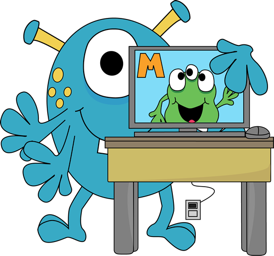 What is clipart in computer png free library Monster Clip Art - Monster Images png free library