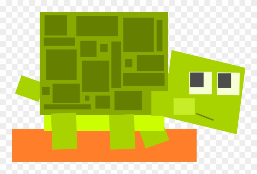 What is it made out of clipart clipart freeuse library Square Animal Cartoon Turtle - Animals Made Out Of Squares ... clipart freeuse library