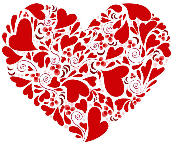 What is it made out of clipart clip art Heart Made Out Of Hearts Clipart clip art