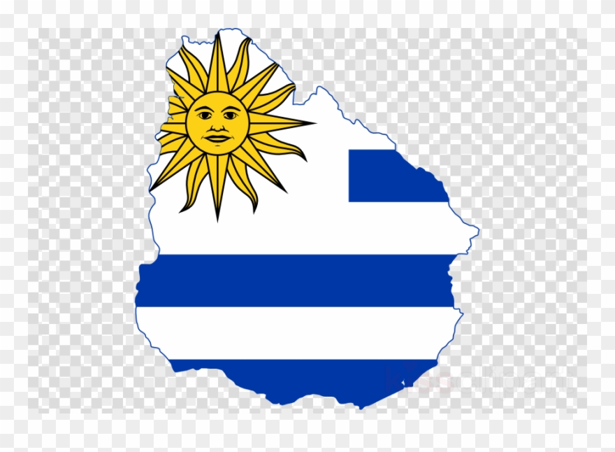 What is the flag of uruguay clipart image black and white stock Download Uruguay Flag Map Clipart Flag Of Uruguay Clip ... image black and white stock