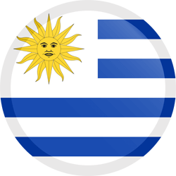 What is the flag of uruguay clipart vector transparent library Uruguay flag clipart - country flags vector transparent library