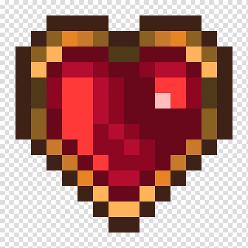 What pixel of clipart for t shirts picture transparent download Pixel art 8-bit color Heart T-shirt, gemstone transparent ... picture transparent download