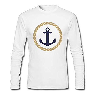 What pixel of clipart for t shirts vector free stock Amazon.com: Anchor Rope Clipart Men Autumn Clothes Tops ... vector free stock