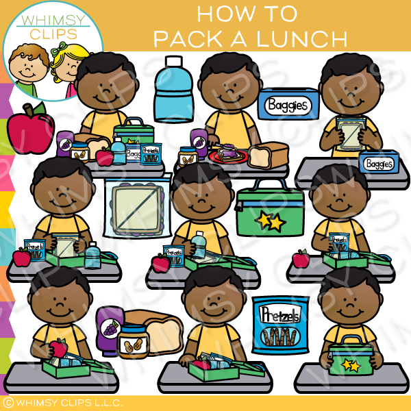 What to pack clipart clipart freeuse How to Pack a Lunch Clip Art clipart freeuse