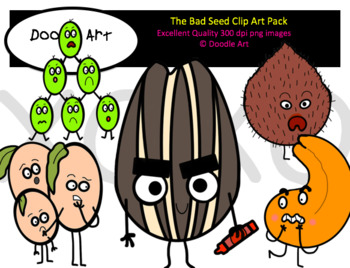 What to pack clipart jpg free stock The Bad Seed Clip Art Pack jpg free stock