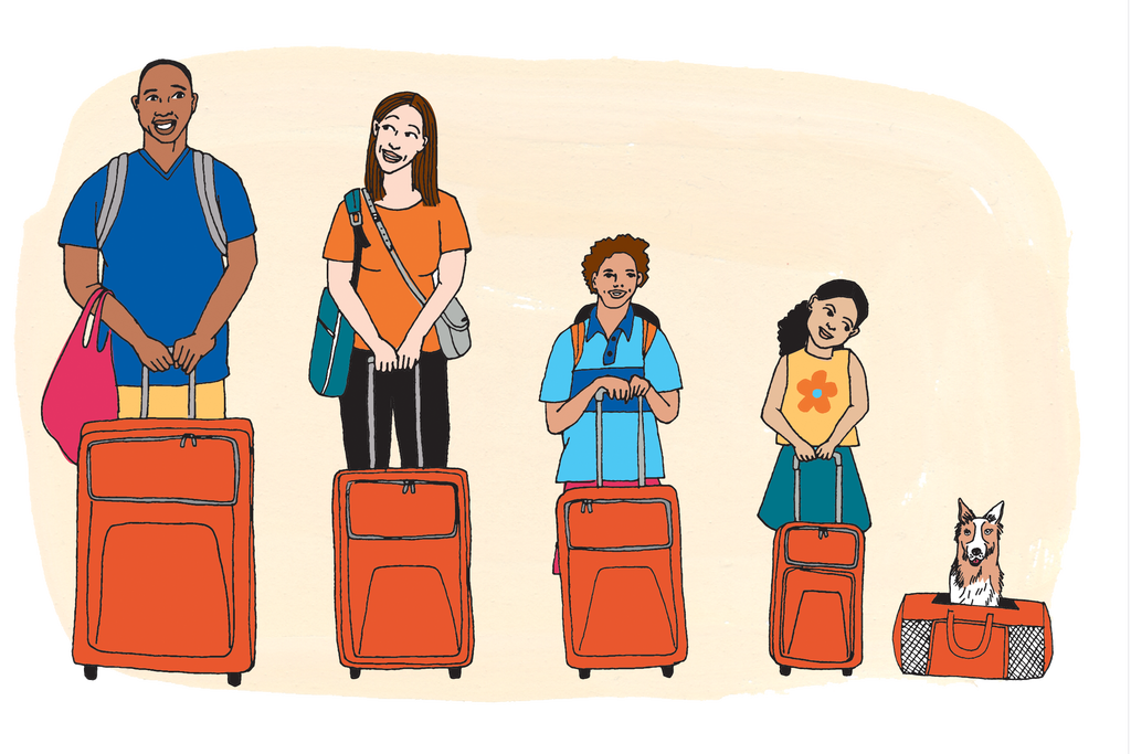 Things that go in a luggage clipart vector free download How to Pack a Suitcase - Travel Guides - The New York Times vector free download