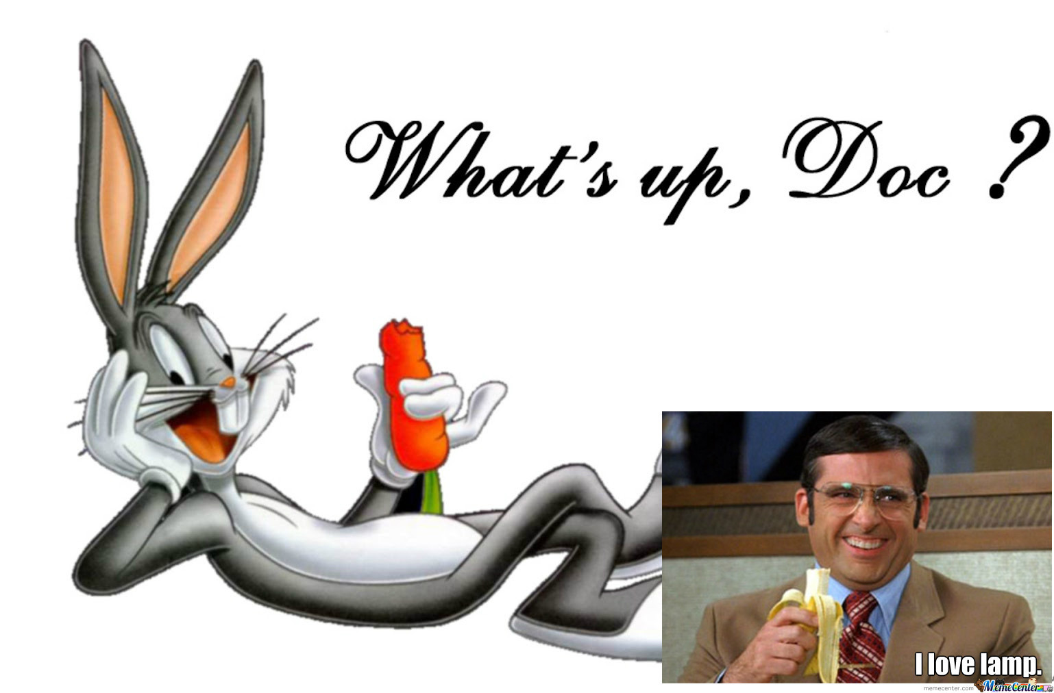 What up doc clipart picture freeuse Whats up doc meme - MemeSuper picture freeuse