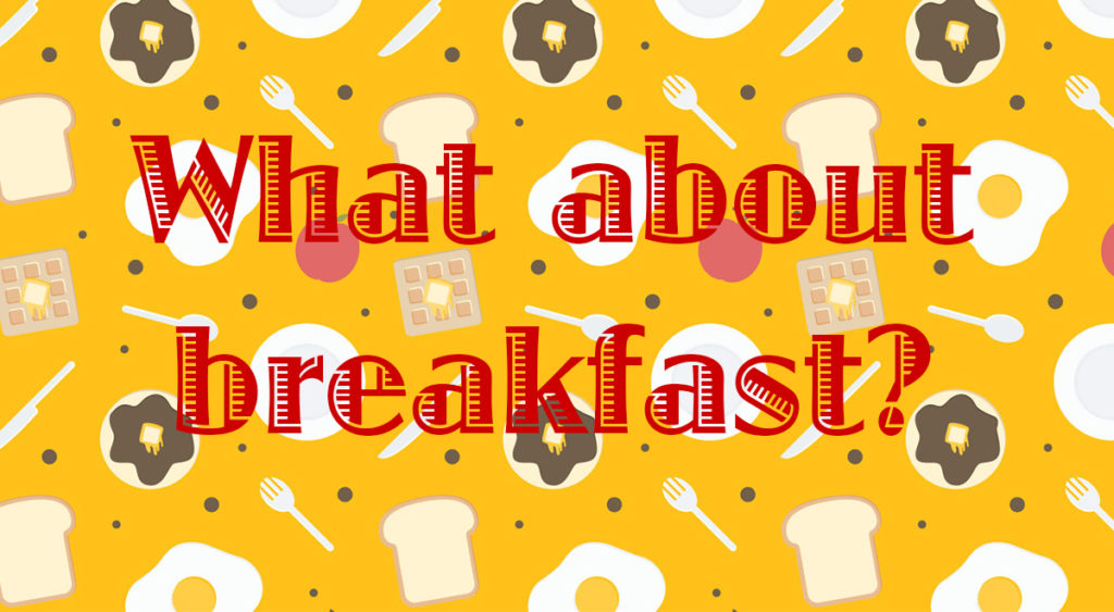 What-s for breakfast clipart