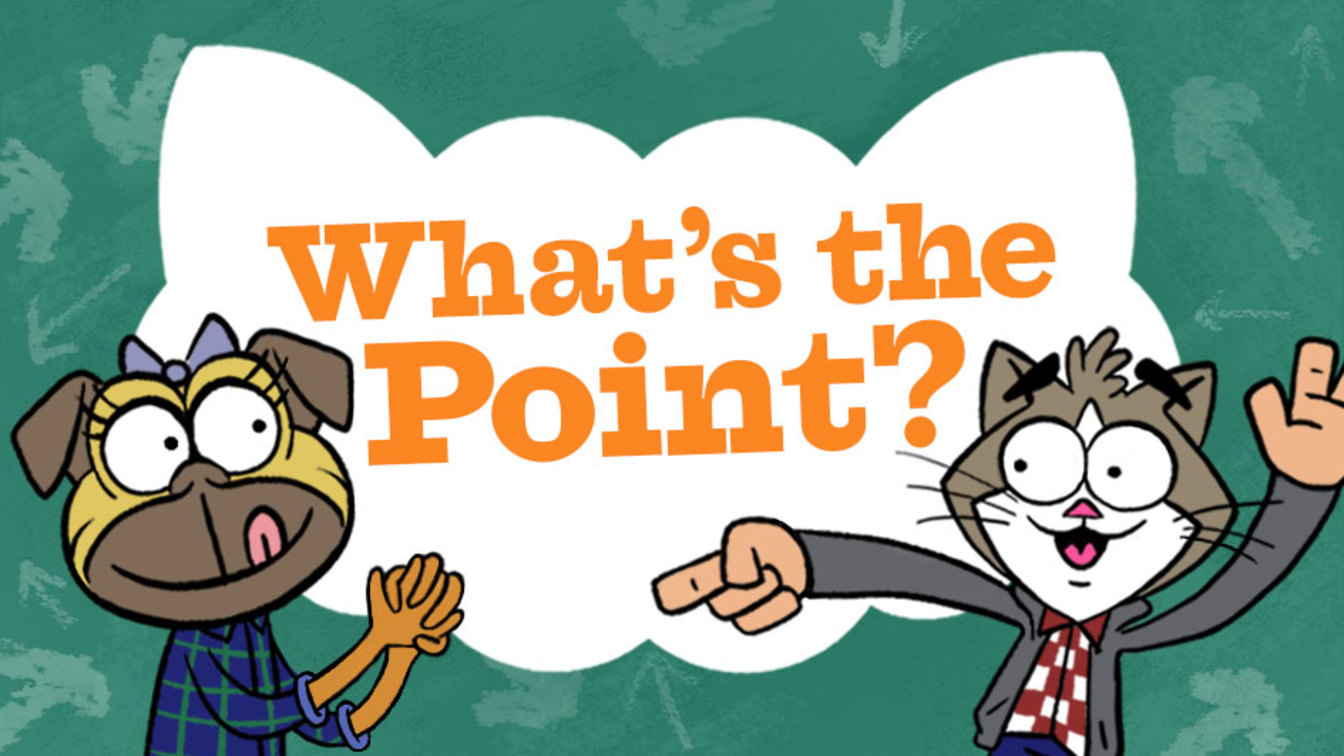 What-s the point clipart clipart royalty free stock What\'s the Point? - GoNoodle clipart royalty free stock