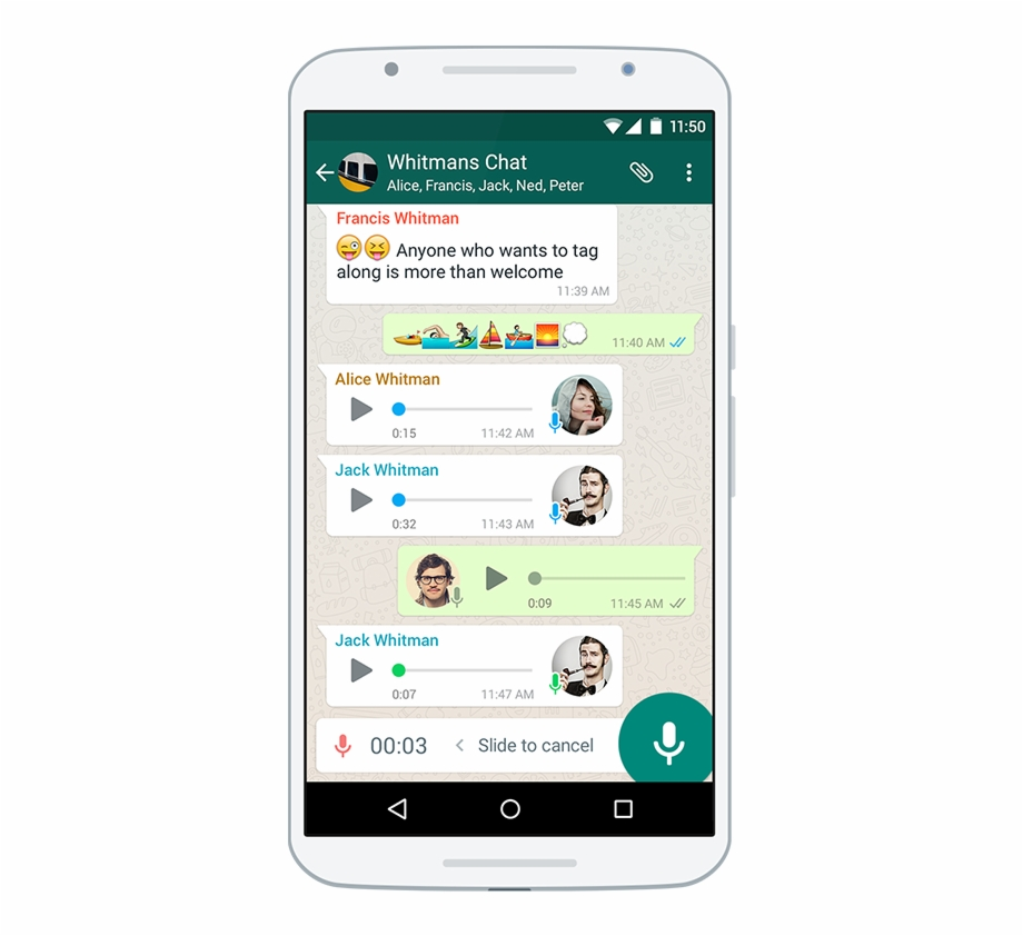 Whatsapp message clipart svg library stock Voice Messages - Whatsapp On Android Free PNG Images ... svg library stock