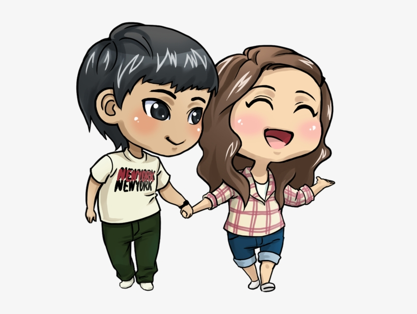 Whatsapp status sticker clipart clip royalty free library Anime Love Couple Png File - Whatsapp Status Sticker Png PNG ... clip royalty free library