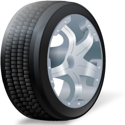 Wheal images clipart royalty free library Car Wheel PNG image royalty free library