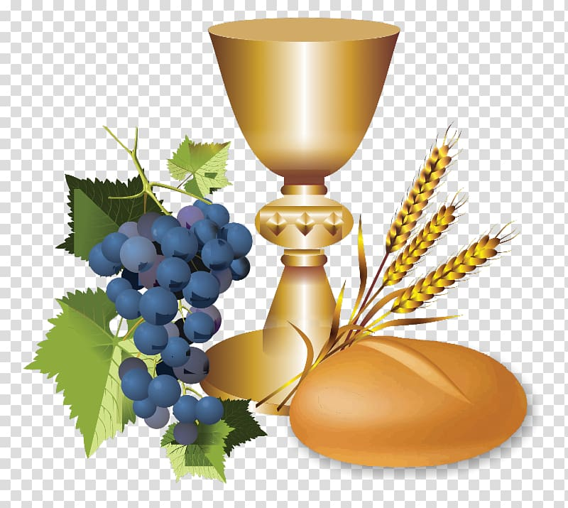 Wheat and grapes clipart banner free download Chalice, wheat, and grapes illustration, Eucharist First ... banner free download