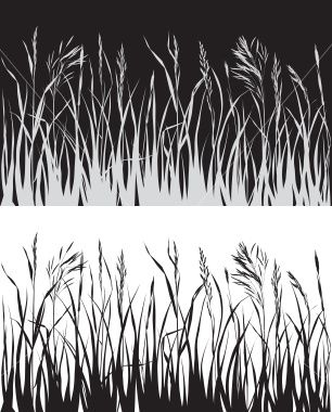 Wheat field silhouette clipart picture free download Grass on the field. Silhouette. | DIY & Art | Grass drawing ... picture free download