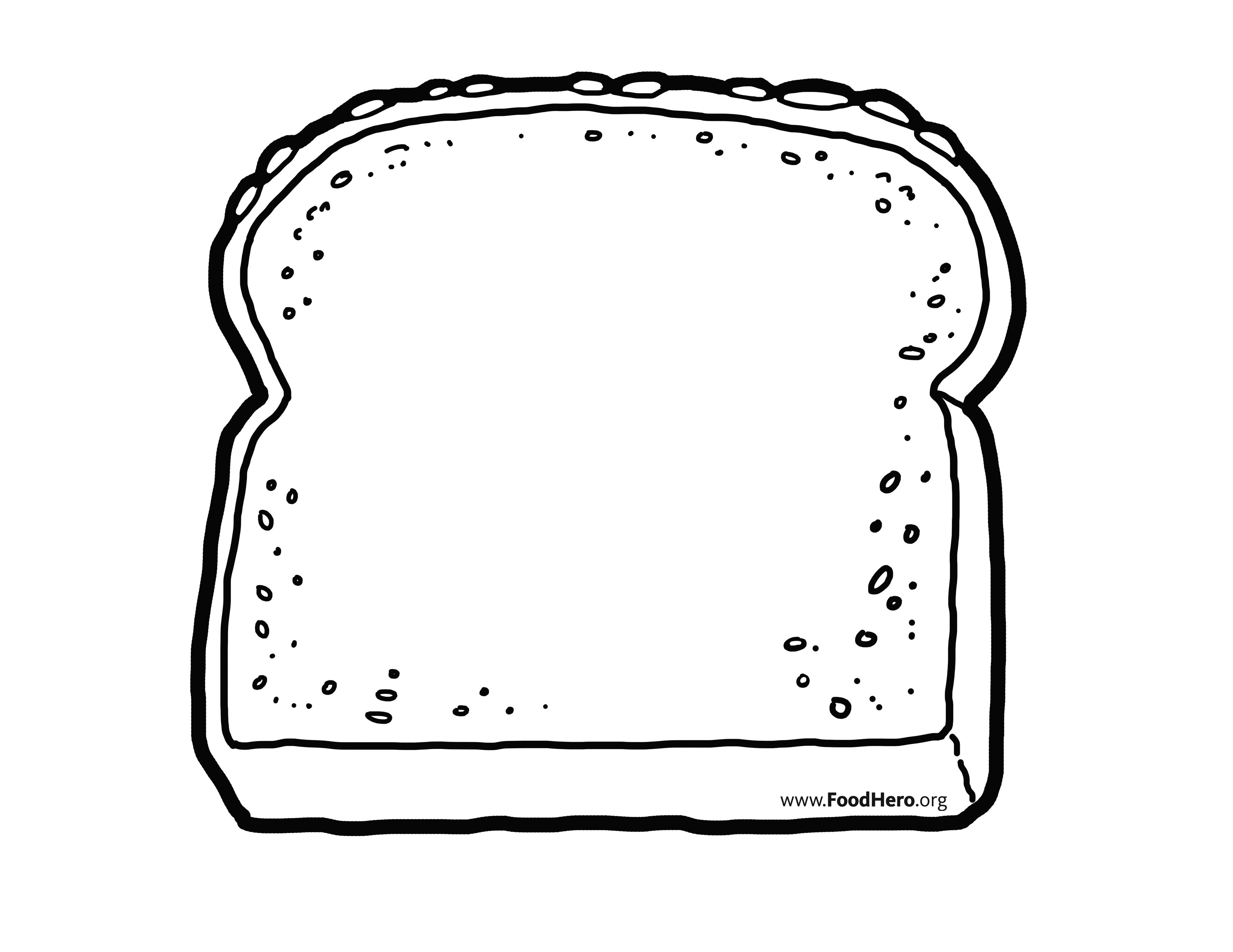 Wheat outline clipart picture free library Whole Wheat Grain outline. Find at foodhero.org ... picture free library