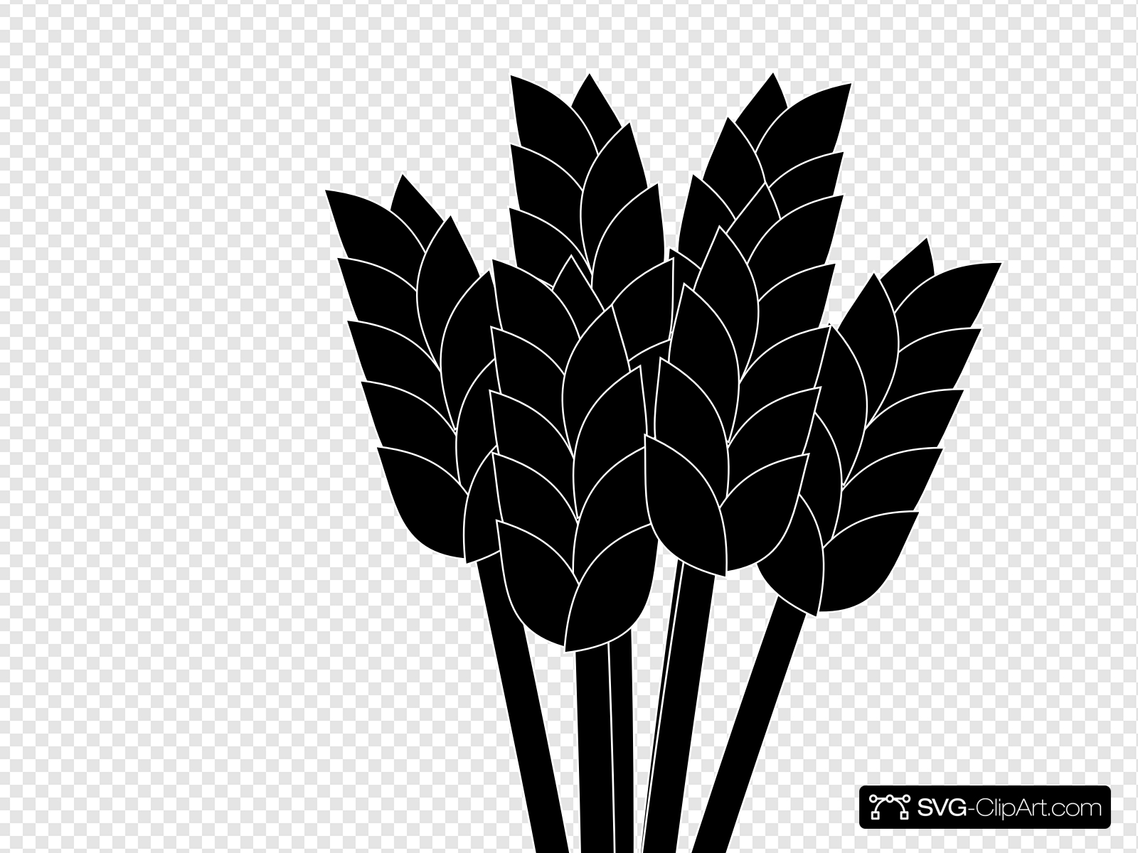 Wheat outline clipart jpg Wheat Clip art, Icon and SVG - SVG Clipart jpg
