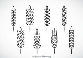 Wheat stalk clipart clipart freeuse Wheat Stalk Free Vector Art - (738 Free Downloads) clipart freeuse