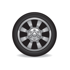 Wheel and tires clipart free graphic black and white download tire clip art | Birthdays in 2019 | Clip art, Free cars ... graphic black and white download
