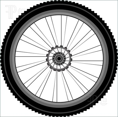 Motorcycle wheel clipart png black and white download Motorcycle Wheel Clipart For Free 299 - Clipart1001 - Free ... png black and white download