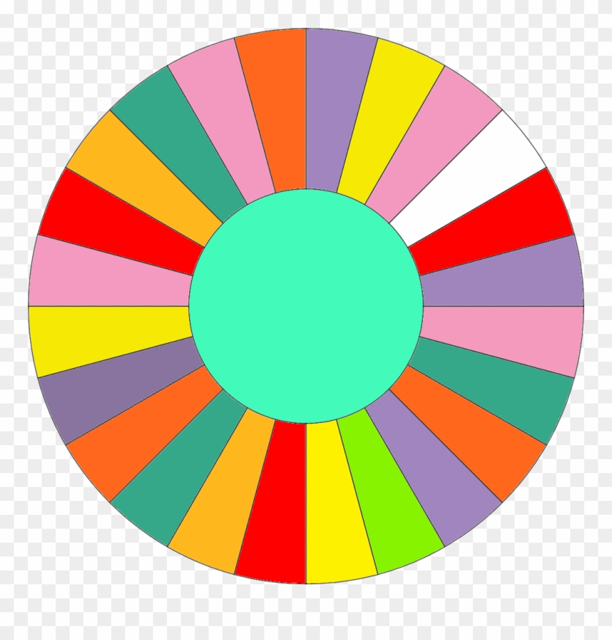 Wheel of fortune clipart