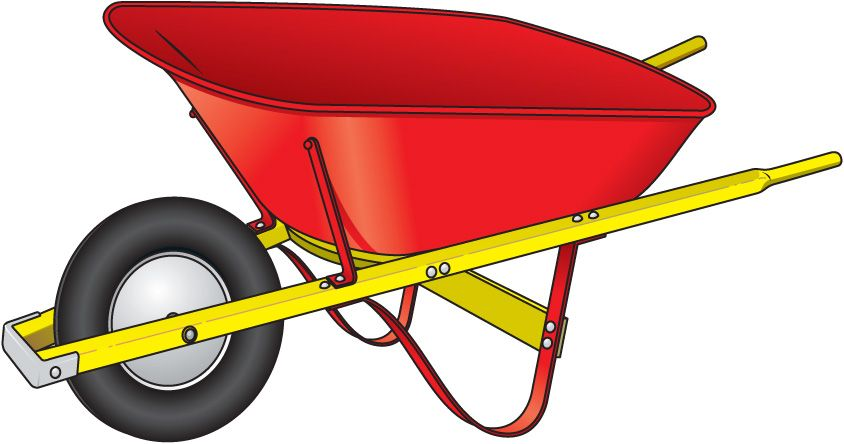 Wheelbarrow with tools clipart jpg free download Wheelbarrow Clipart | Clipart | Wheelbarrow, Wheelbarrow ... jpg free download