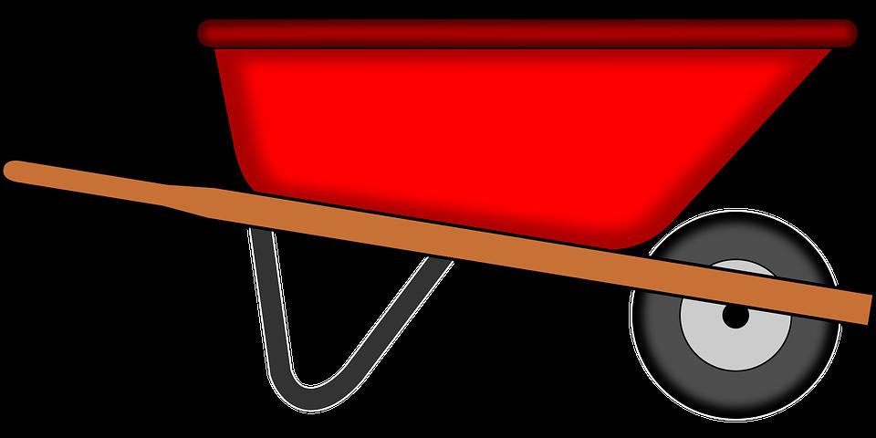 Wheelbarrow with mulch clipart clipart transparent download Wheelbarrow,Cart,Vehicle,Clip art,Spreader,Garden tool ... clipart transparent download