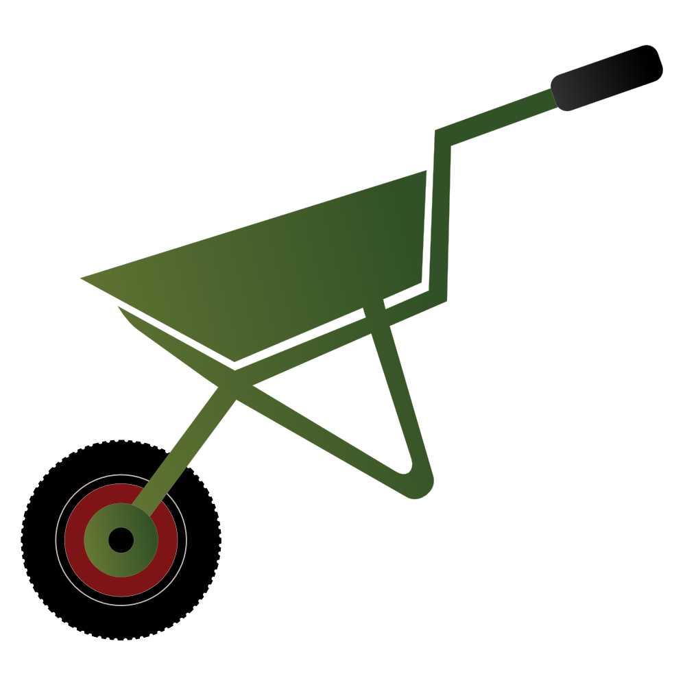 Wheelbarrow with tools clipart svg free Wheelbarrow Cliparts | Free download best Wheelbarrow ... svg free