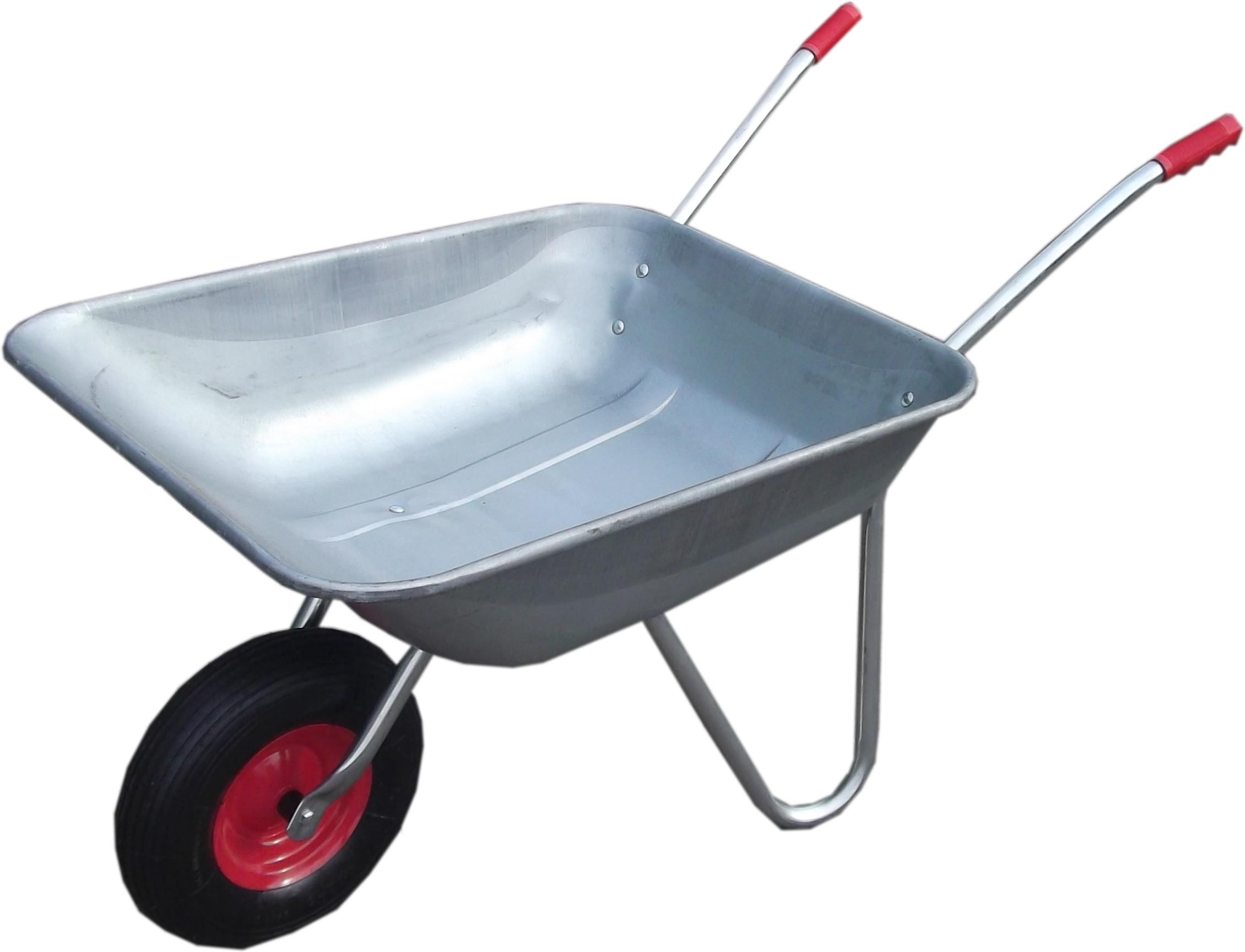Wheelbarrow with tools clipart picture freeuse download Galvanised Wheelbarrow - Wheelbarrows Sack Trucks - Garden ... picture freeuse download