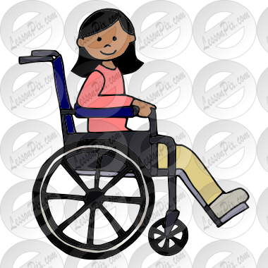 Wheelchair classroom images clipart banner Girl in wheelchair clipart clipart images gallery for free ... banner