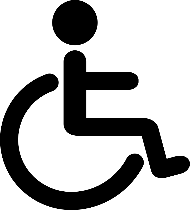 Wheelchair clipart free vector transparent Free Clipart: Wheelchair Pictogram   libberry vector transparent