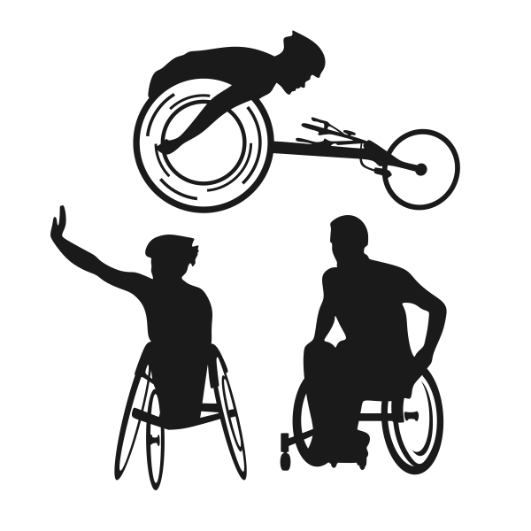 Wheelchair racing clipart png stock Wheelchair clipart wheelchair sport - 183 transparent clip ... png stock