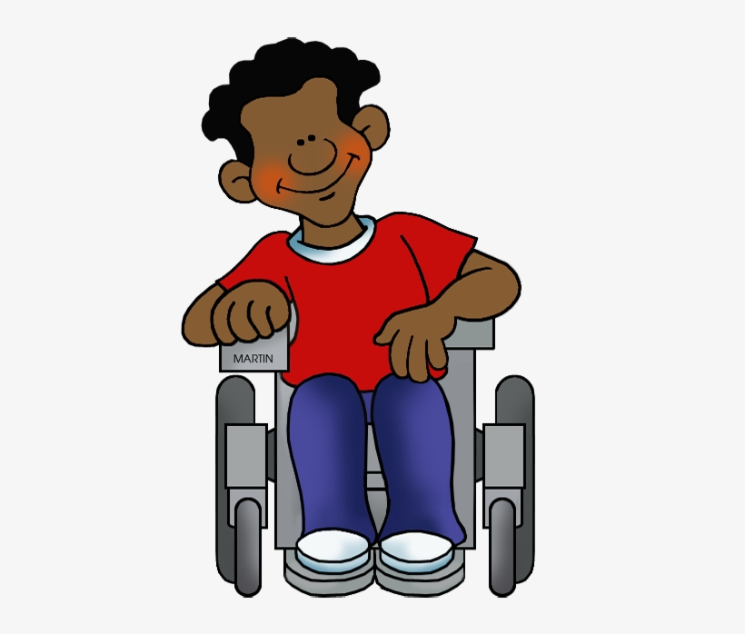 Wheelchair student clipart svg Student In Wheelchair - Person In Wheelchair Clipart - Free ... svg