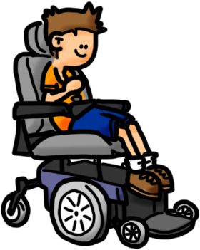 Wheelchair student clipart image freeuse Student wheelchair clipart free - Clip Art Library image freeuse