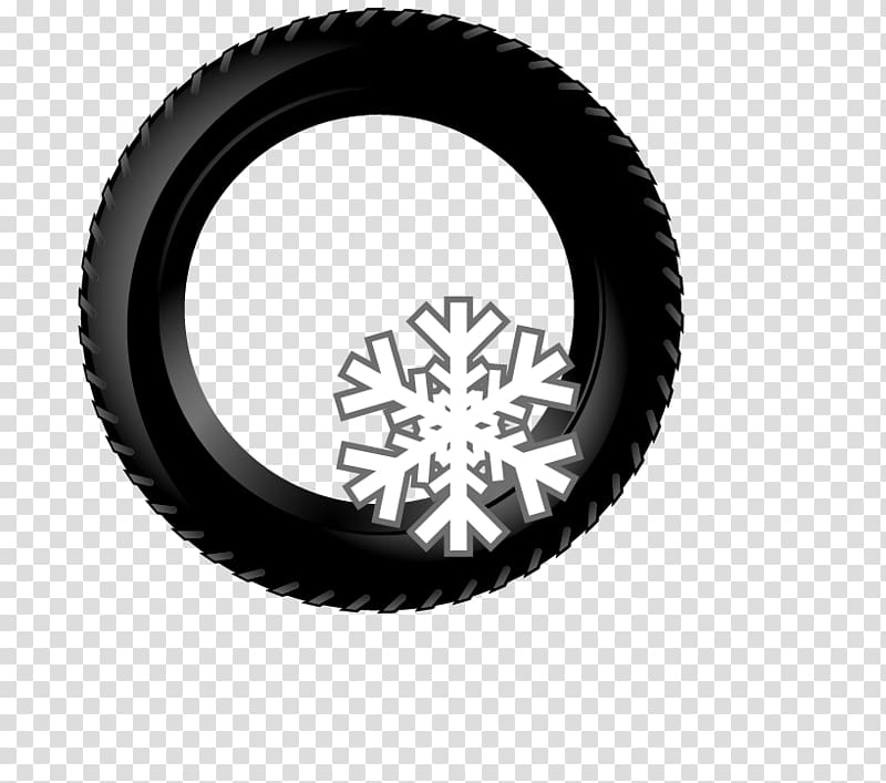 Wheels turning clipart black and white jpg black and white Snow tire Car Wheel Rim, Black wheels transparent background ... jpg black and white