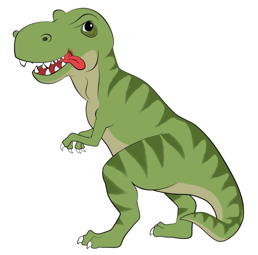When dinosaurs ruled the world banner clipart pinterest vector black and white download t rex dinosaur cartoon | Rex Cartoon by ~EarthEvolution on ... vector black and white download