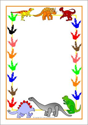 When dinosaurs ruled the world banner clipart pinterest graphic free stock Dinosaur clipart borders - 119 transparent clip arts, images ... graphic free stock