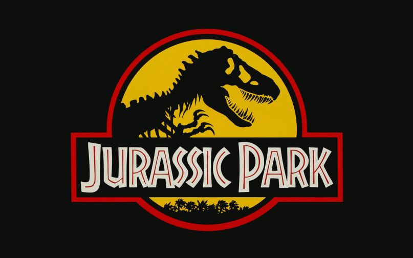 When dinosaurs ruled the world banner clipart pinterest image black and white A Tale of Two Jurassic Parks | Consequence of Sound image black and white