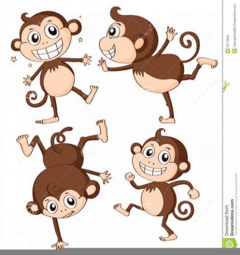 Where are the monkeys clipart vector free library Cartoon Monkeys Clipart Graphics | Free Images at Clker.com ... vector free library