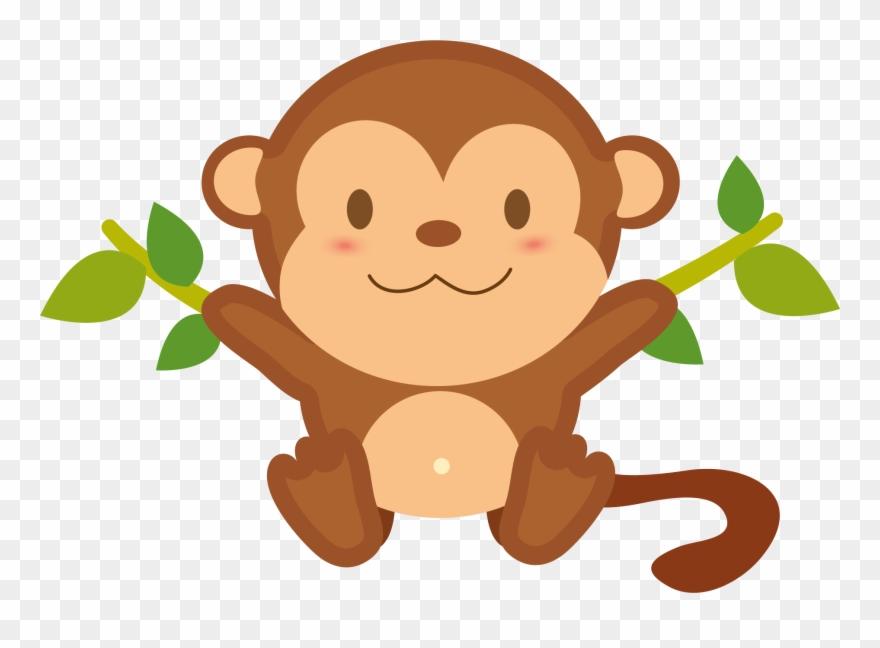 Monkey clipart png free stock Monkey Transparent Free Images Only Cliparts - Transparent ... free stock