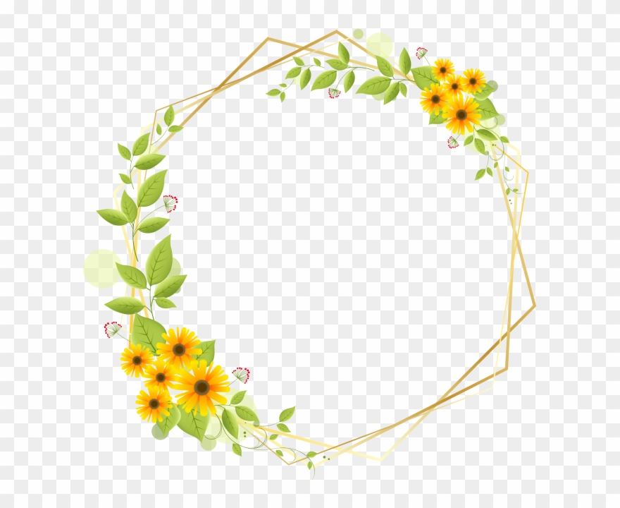 Where can i download free clipart flower border picture free download Flower Border Clip Art Free Download - Png Download ... picture free download