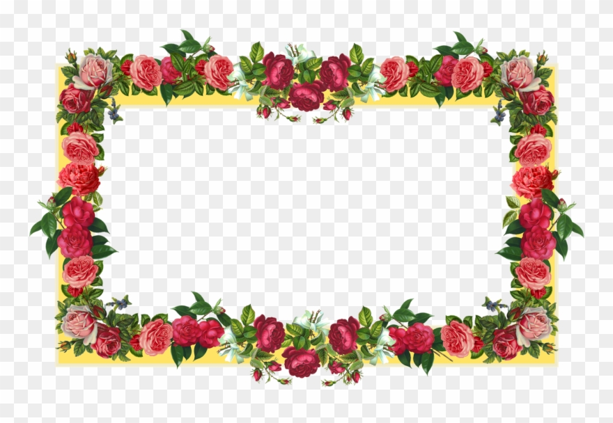 Where can i download free clipart flower border png royalty free library Free Flower Border Png Download Free Clip Art Free - Rose ... png royalty free library