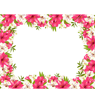 Where can i download free clipart flower border svg black and white library Free Flower Borders Free, Download Free Clip Art, Free Clip ... svg black and white library