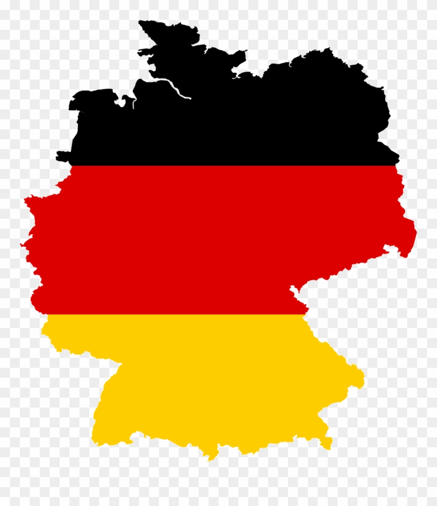 Where is clipart located svg freeuse Germany Is Located In Central Europe, Bordering The ... svg freeuse