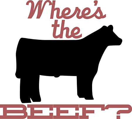 Where s the beef clipart graphic royalty free download On Wendy\'s Class Action: The Beef\'s in the Details | Digital ... graphic royalty free download